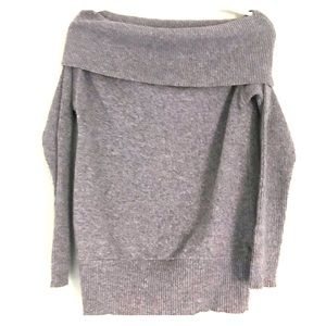 off the shoulder sisley sweater